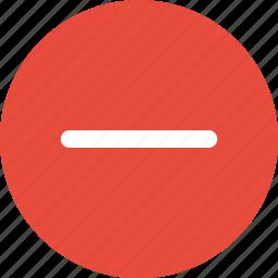 nav, navigate, navigation, negative, neutral, sign, ui icon