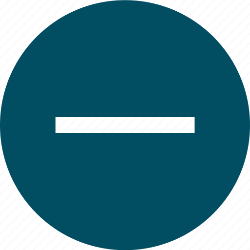 negative, neutral, pending, sign icon