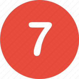 menu, nav, navigation, number, seven, ui icon