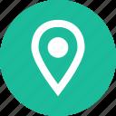 gps, locate, menu, nav, navigation, pin, ui