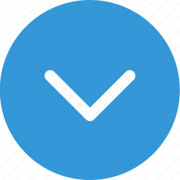 arrow, down, menu, nav, navigation, point, ui icon