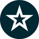 favorite, online, star, web icon