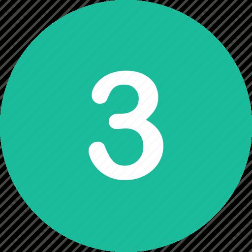 menu, nav, navigation, number, three, ui icon
