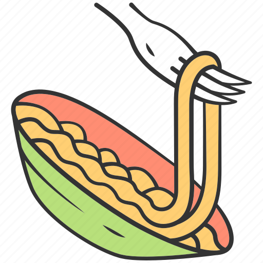 diet, ingredient, italian, mediterranean, pasta, spaghetti, traditional icon