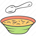 appetizer, bowl, diet, food, kitchen, soup, tasty icon