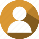 account, avatar, business, human, person, profile, user icon