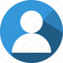 account, avatar, human, person, profile, user, users icon