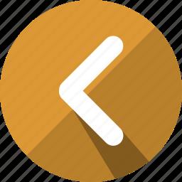 arrow, arrows, back, direction, left, navigation icon