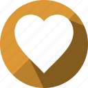 bookmark, favorite, favourite, heart, like, love, romance icon