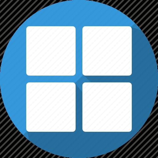 app, interface, menu, navigation, start, ui, window icon