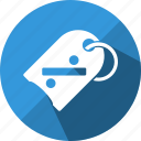 finance, label, offer, price, sale, sticker, tag icon