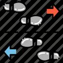 foot, footprints, traffic icon