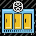 freezer, locker, showcase icon