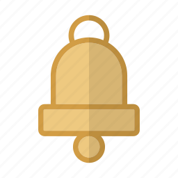bell, christmas, church, holiday, winter icon