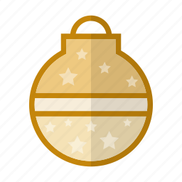 ball, christmas, deco, holiday, winter icon