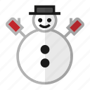 christmas, holiday, snow, snowman, winter