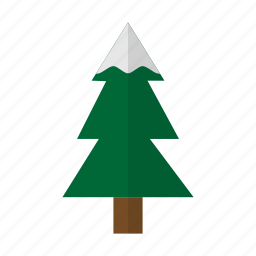 christmas, forrest, holiday, plants, tree, winter icon