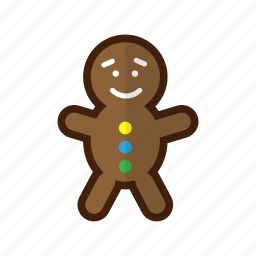 backery, candy, christmas, cookie, cookie-man, holiday, winter icon