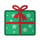 christmas, gift, holiday, present, winter icon