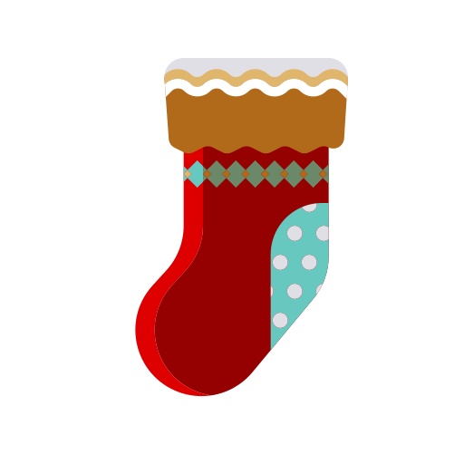 chimney, christmas, fireplace, merry, red, socks, stockings icon