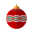 ball, christmas, decoration, merry, ornament, tree icon