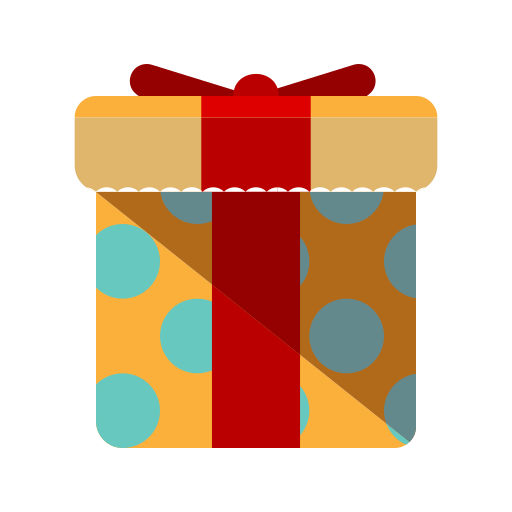 box, christmas, gift, merry, present, wrapping icon