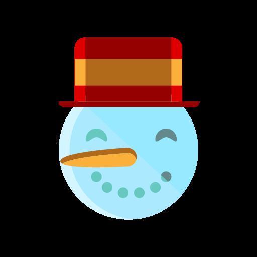 christmas, hat, merry, smile, snow, snowman icon