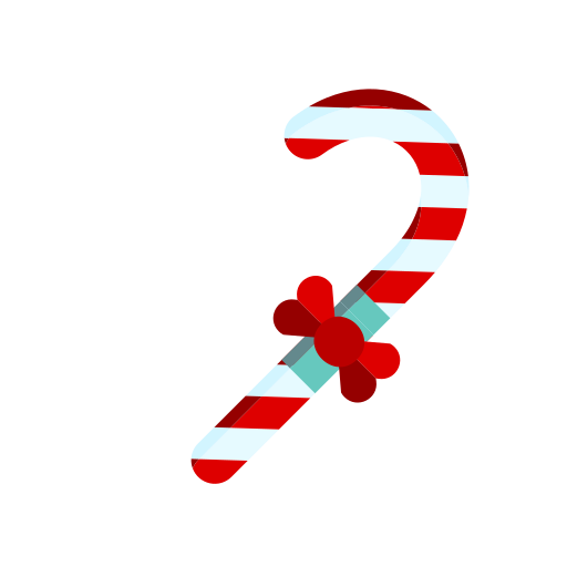 candy, cane, christmas, merry, stripes, sweet, treat icon