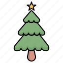 christmas, newyear, tree, winter, xmas icon