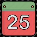 calendar, christmas calendar, event icon