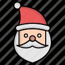 christmas, claus, santa