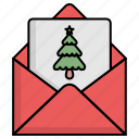 christmas, email, letter, mail