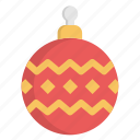 ball, christmas, decoration