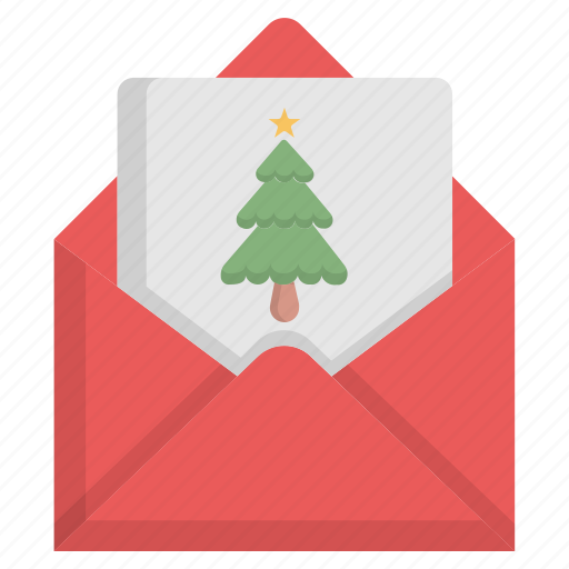 Christmas, email, letter, mail icon - Download on Iconfinder