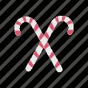 candy, christmas, stick icon icon