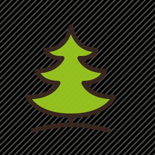 christmas, merry christmas, new year, pine, tree, winter icon