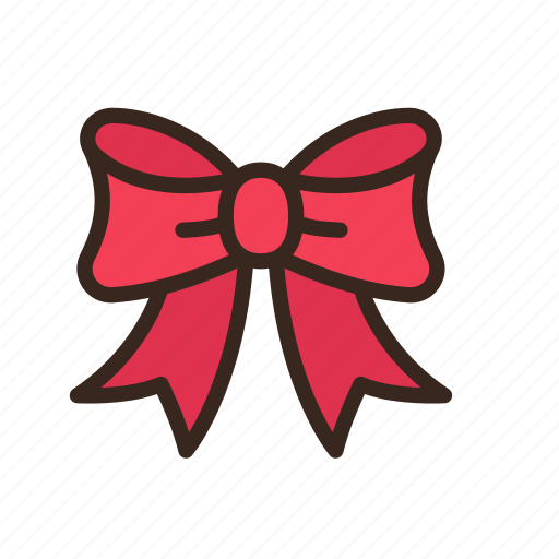 bow, christmas, gift, merry christmas, new year, present, ribbon icon