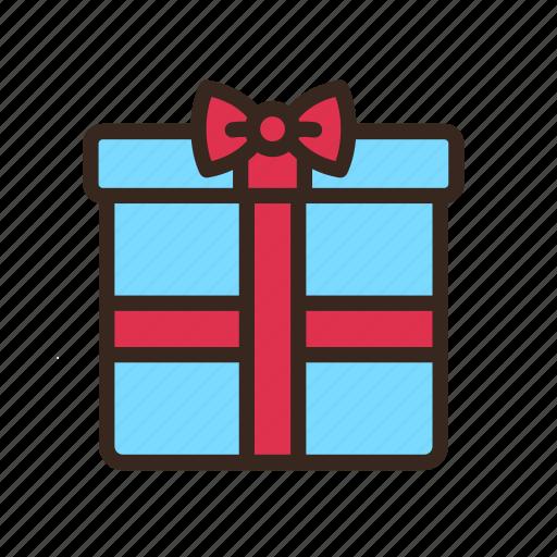bow, box, christmas, gift, merry christmas, present, ribbon icon