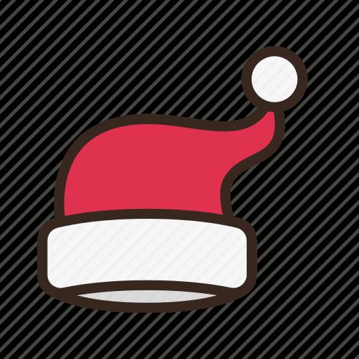 christmas, hat, holiday, merry christmas, new year, santa, santa claus icon