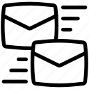 communications, email, mail, mails, message