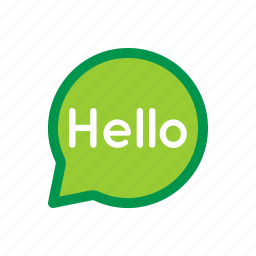 chat, greeting, hello, message, messenger, text icon