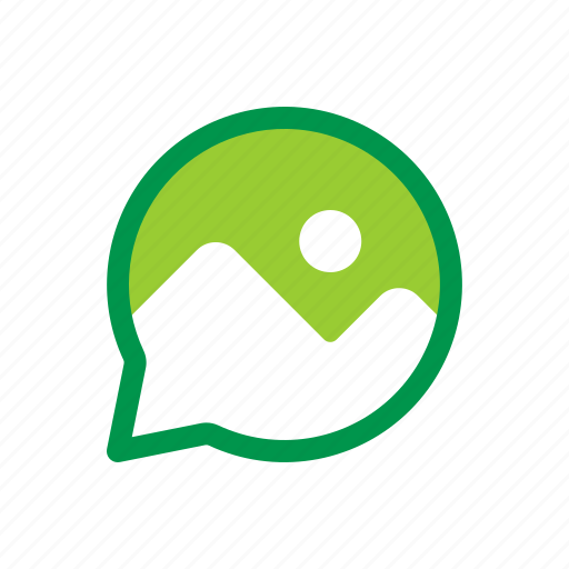 chat, image, message, multimedia, photo, picture icon