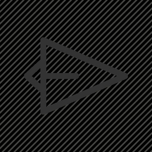 paper plane, send, sent icon