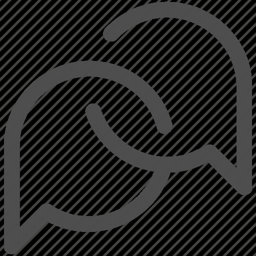 bubble, chat, comment, interface, social, speech bubbles, talk icon