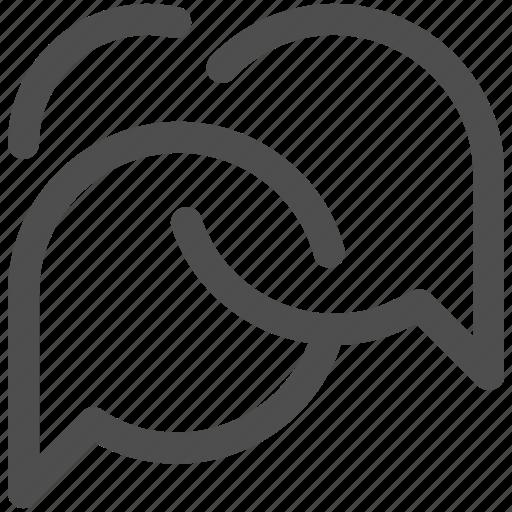 bubbles, chat, communication, conversation, interface, speech bubble, talk icon