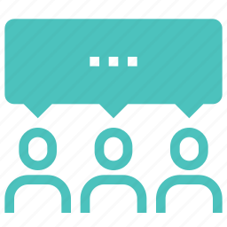 bubble, chat, communication, conversation, message, people, speech icon