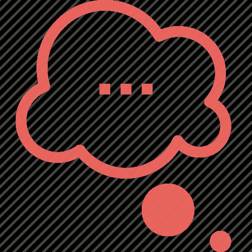 bubble, chat, cloud, communication, conversation, speech, talk icon