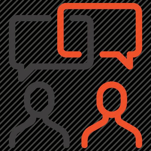 bubble, chat, communication, conversation, message, people, speech icon