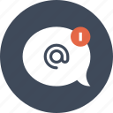 bubble, chat, communication, conversation, email, message, speech icon