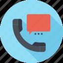 bubble, call, communication, conversation, phone, speech, talk